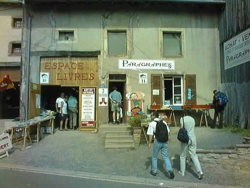 les villages du livre en France…