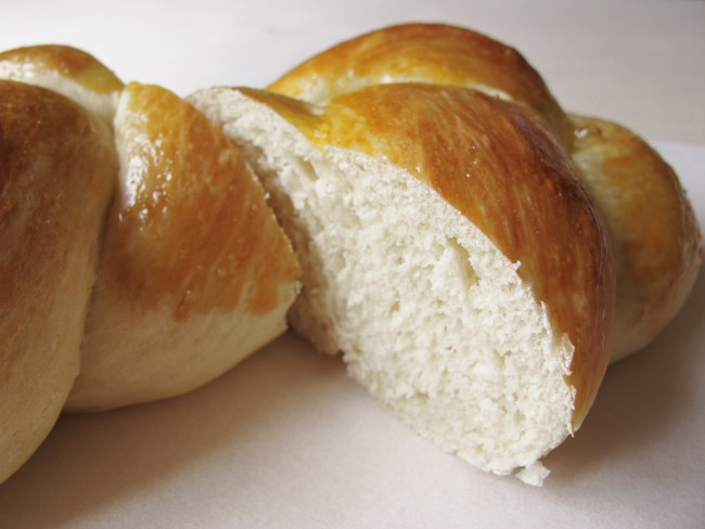 pain brioché tressé