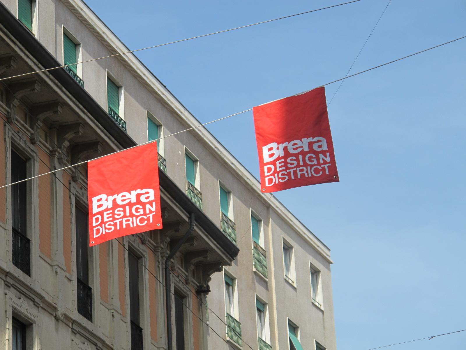 Salon du meuble de Milan 2011: Brera District