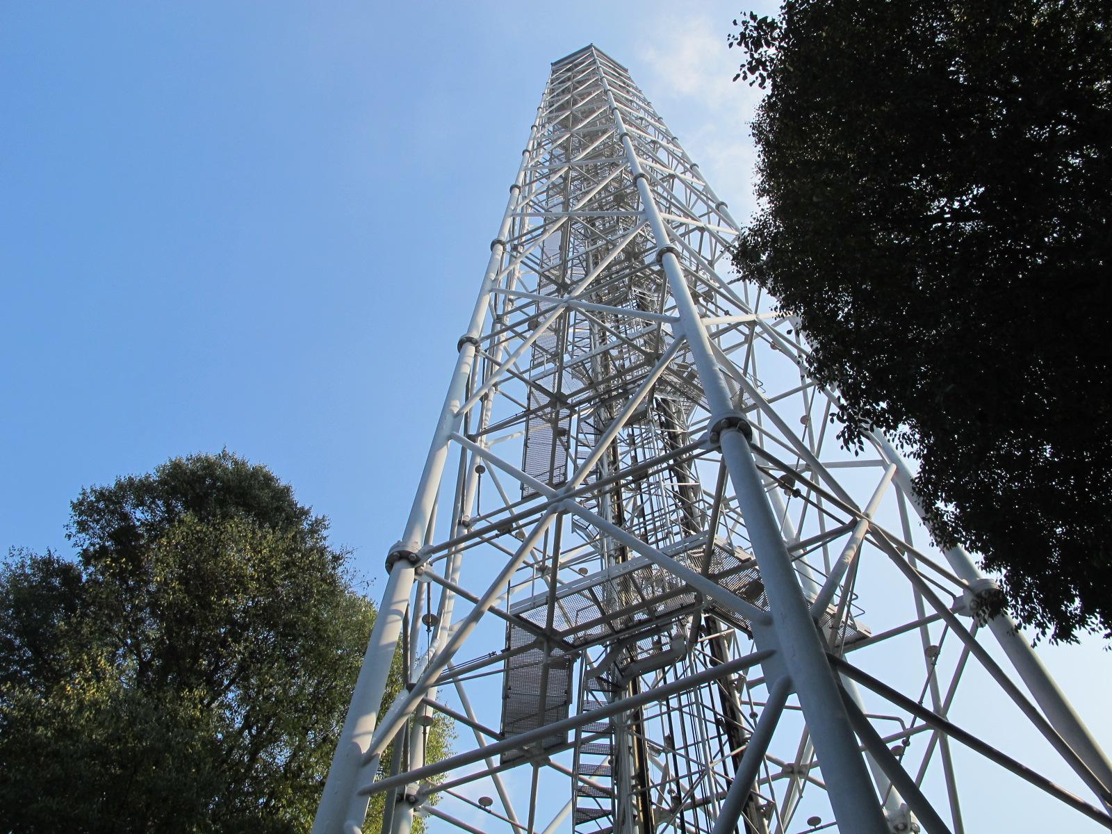 Milan vue d'en haut, la Torre Branca…