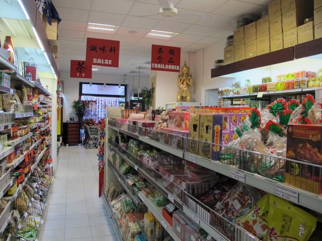 supermarché asiatique milan