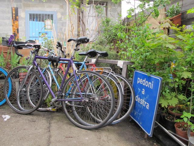 faire du vélo milan