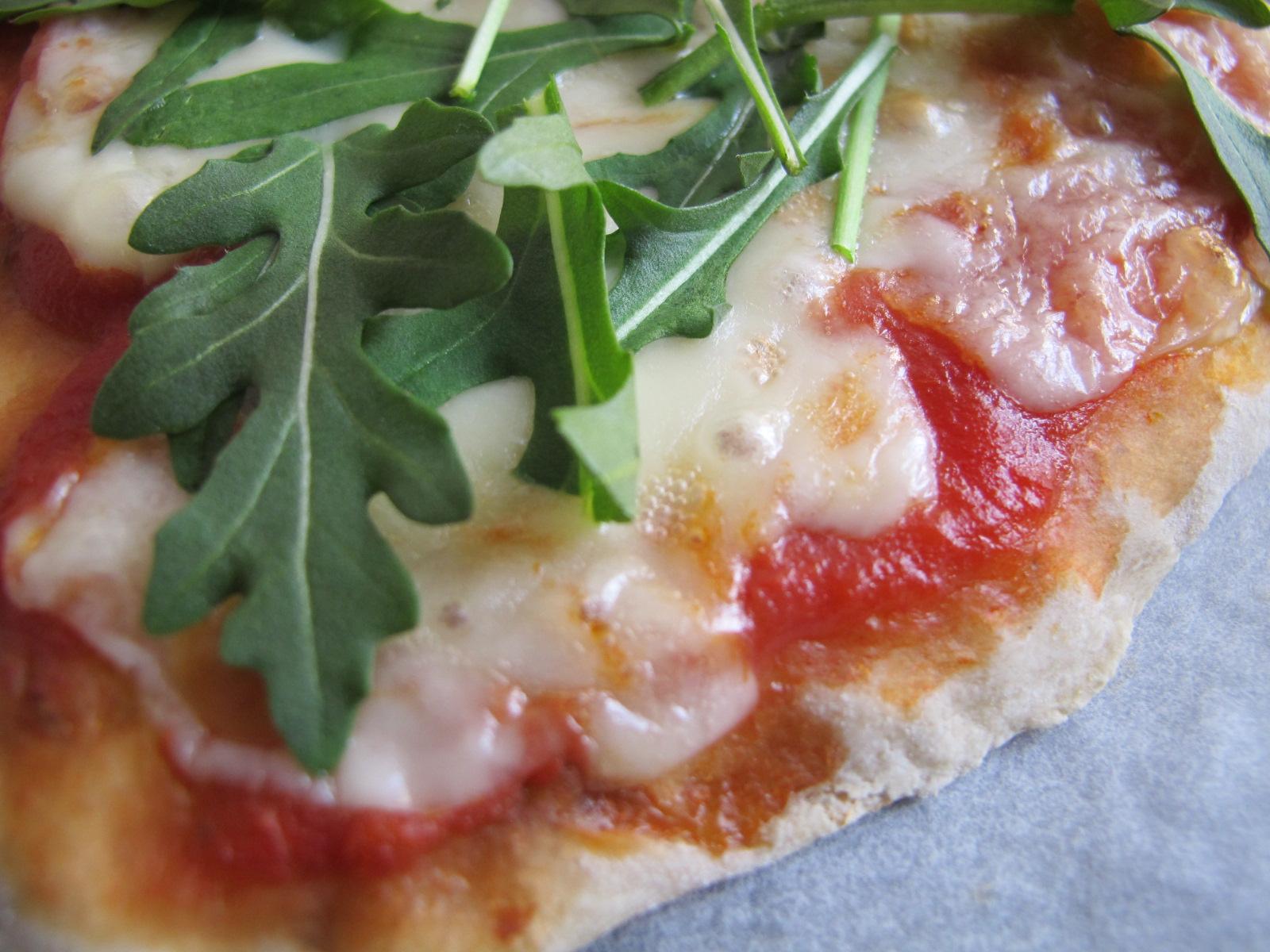 Devinez quoi? De la pizza!