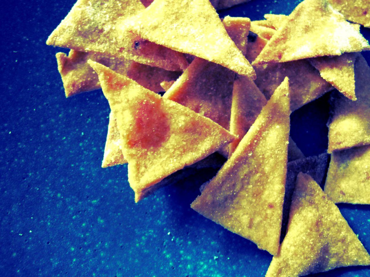 Tortilla chips maison, le goût de la géométrie…