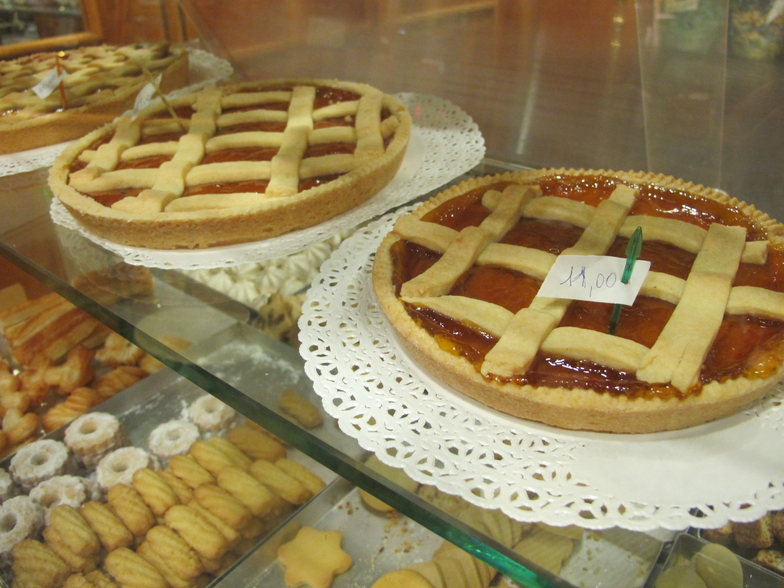 La pâtisserie Fugazza, amaretti et vieilles dentelles…