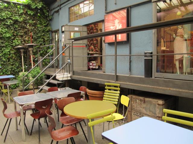 Le Frida cafè à Milan, espace polyvalent…