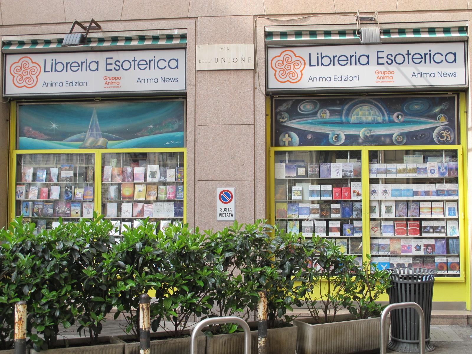 Lieu insolite, la librairie ésotérique à Milan…