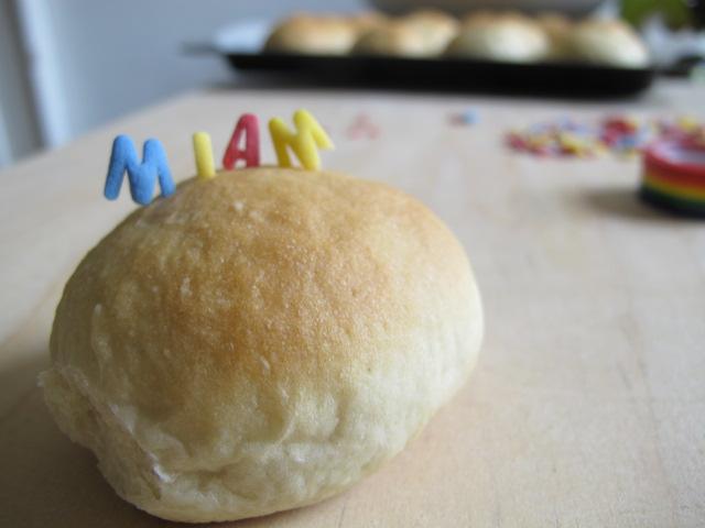 Petits pains briochés, délire au petit déjeûner!