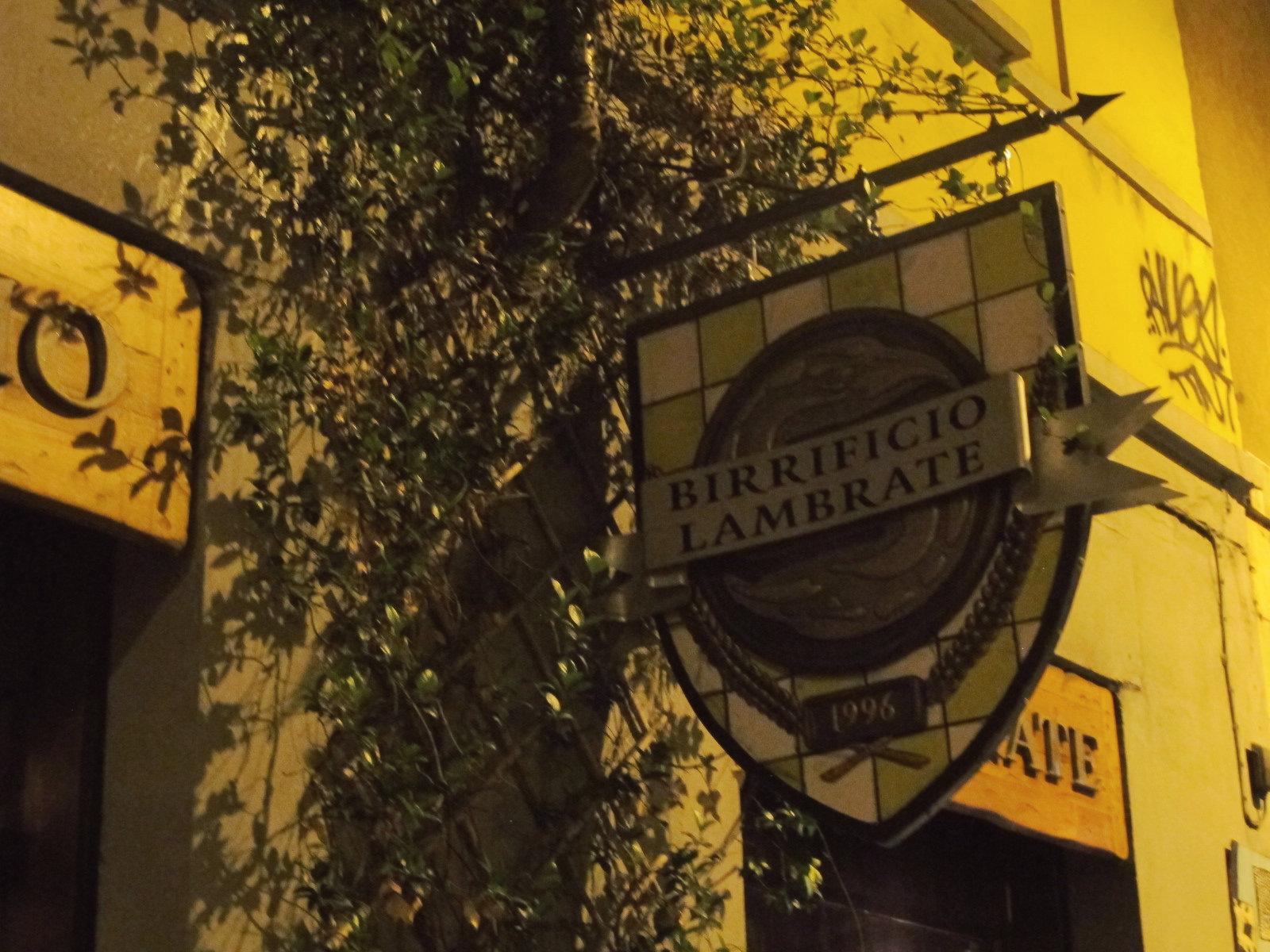 Bière artisanale à Milan, il birrificio di Lambrate
