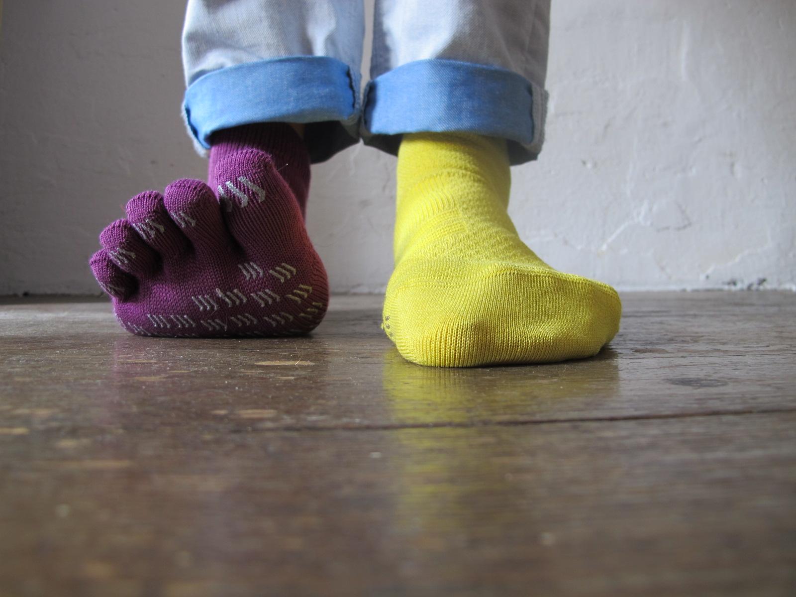 Tabio, les chaussettes colorées c'est beau…