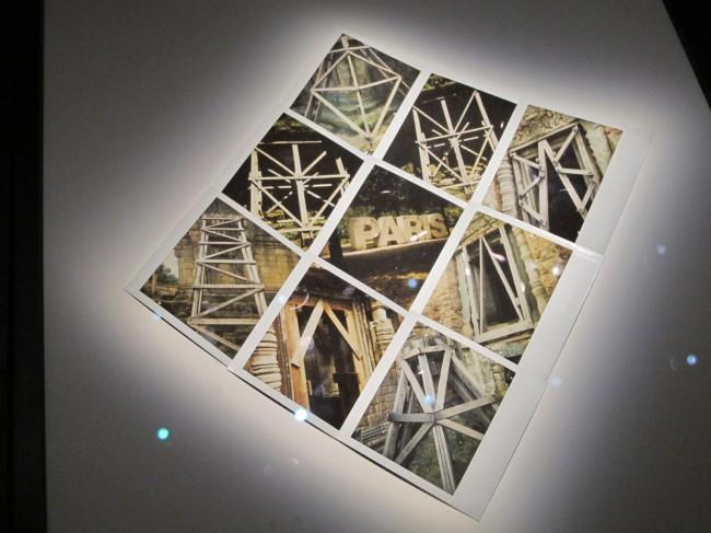 cyprien gaillard trussardi polaroids expo