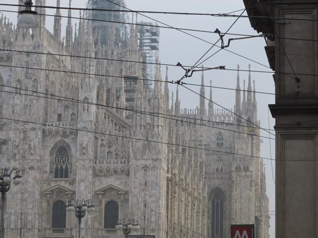 rénovation flèches cathédrale milan