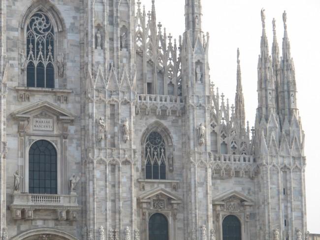 cathédrale milan marbre