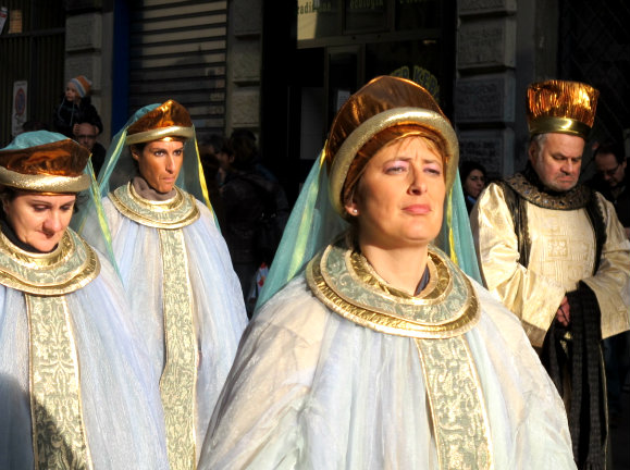 rois mages italie tradition