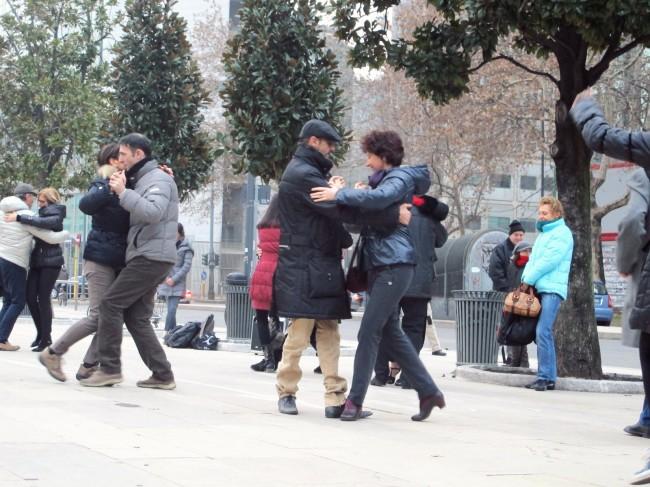 street tango flashmob