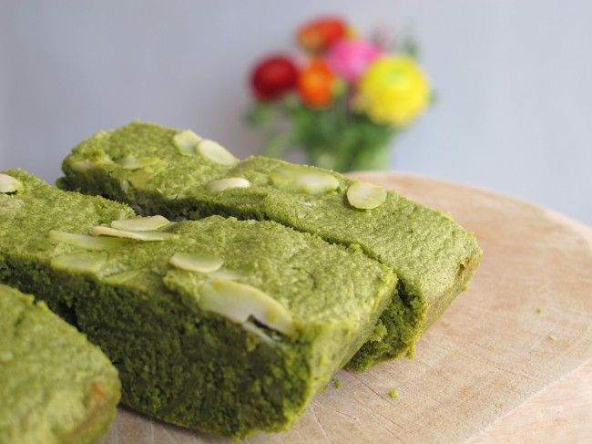 matcha green tea brownies