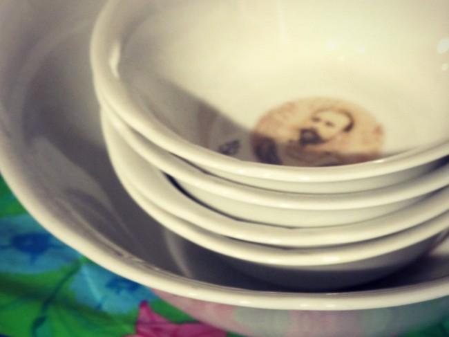 vaisselle vintage revisitée