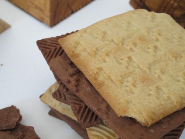 biscuits imprimés