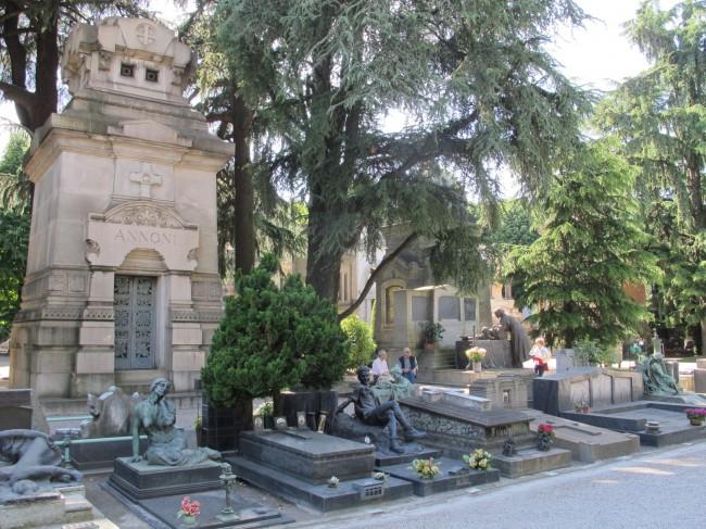 cimetière milan