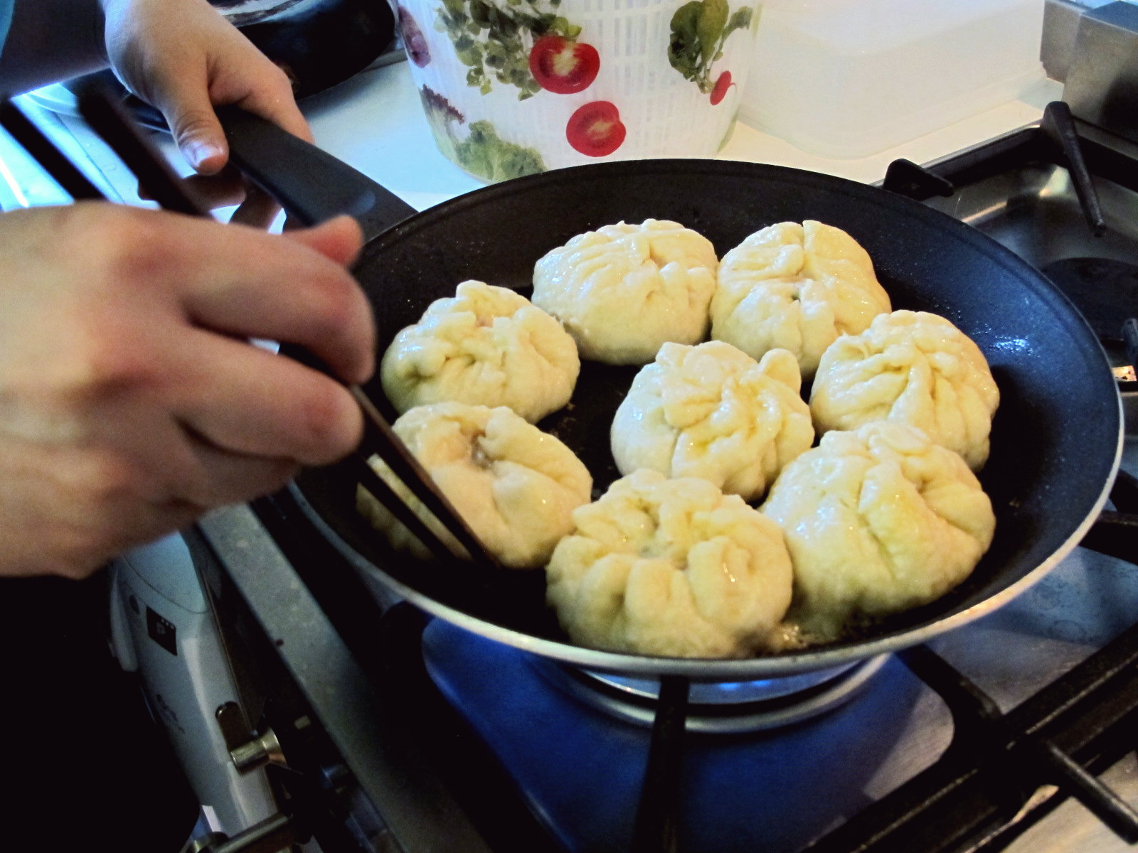 Nikuman chinois, petits pains vapeur farcis