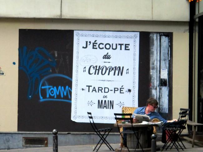 affiche insolite chopin