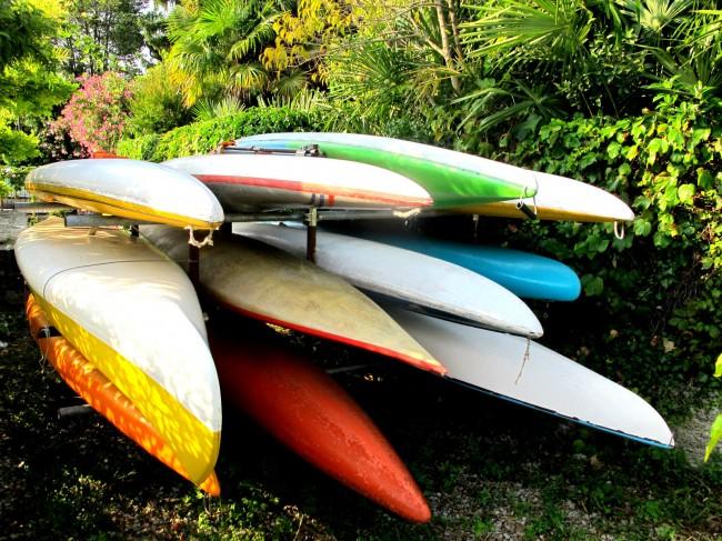rangement kayaks