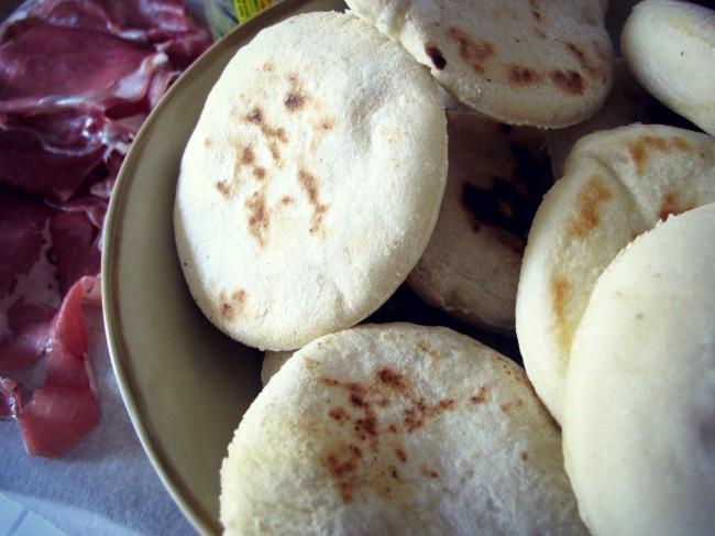 pain cuit à la poele