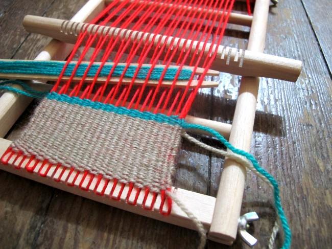 métier à tisser artisanal