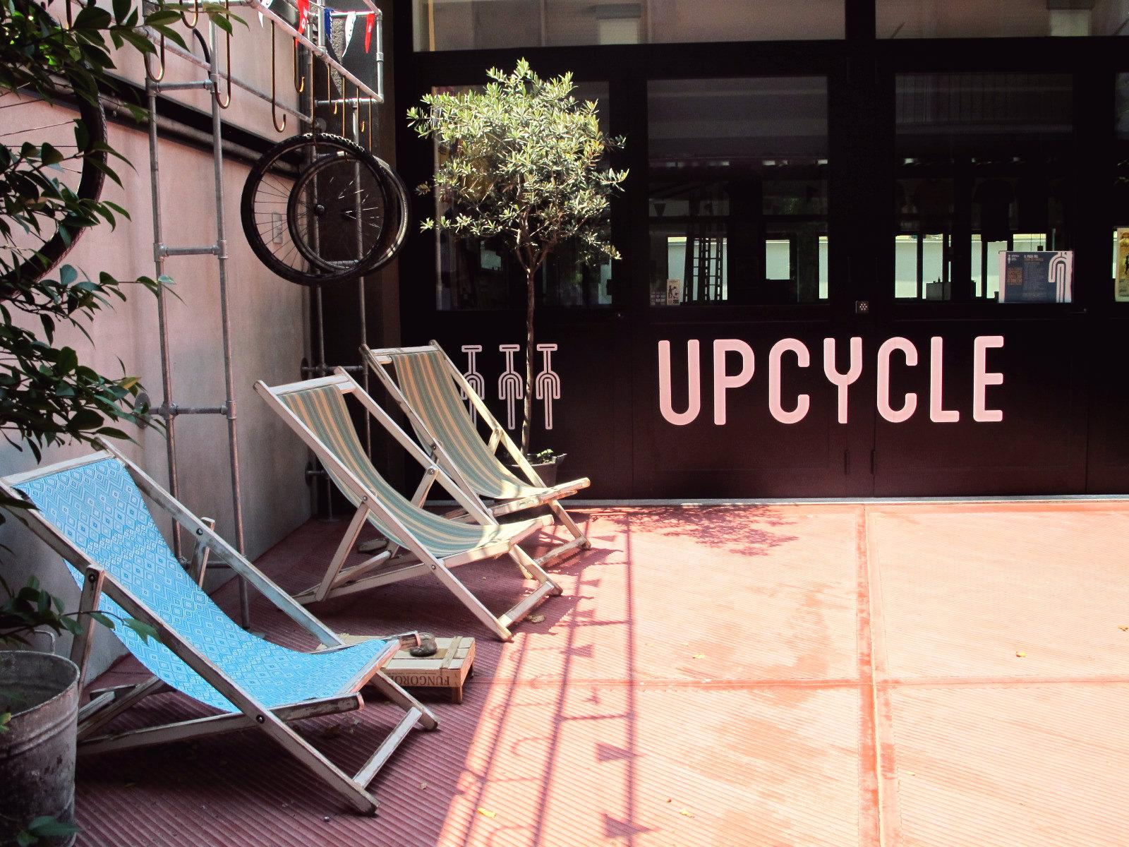Upcycle, des vélos et un joli café…