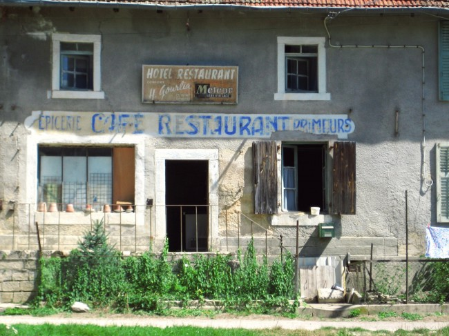 village abandonné meuse