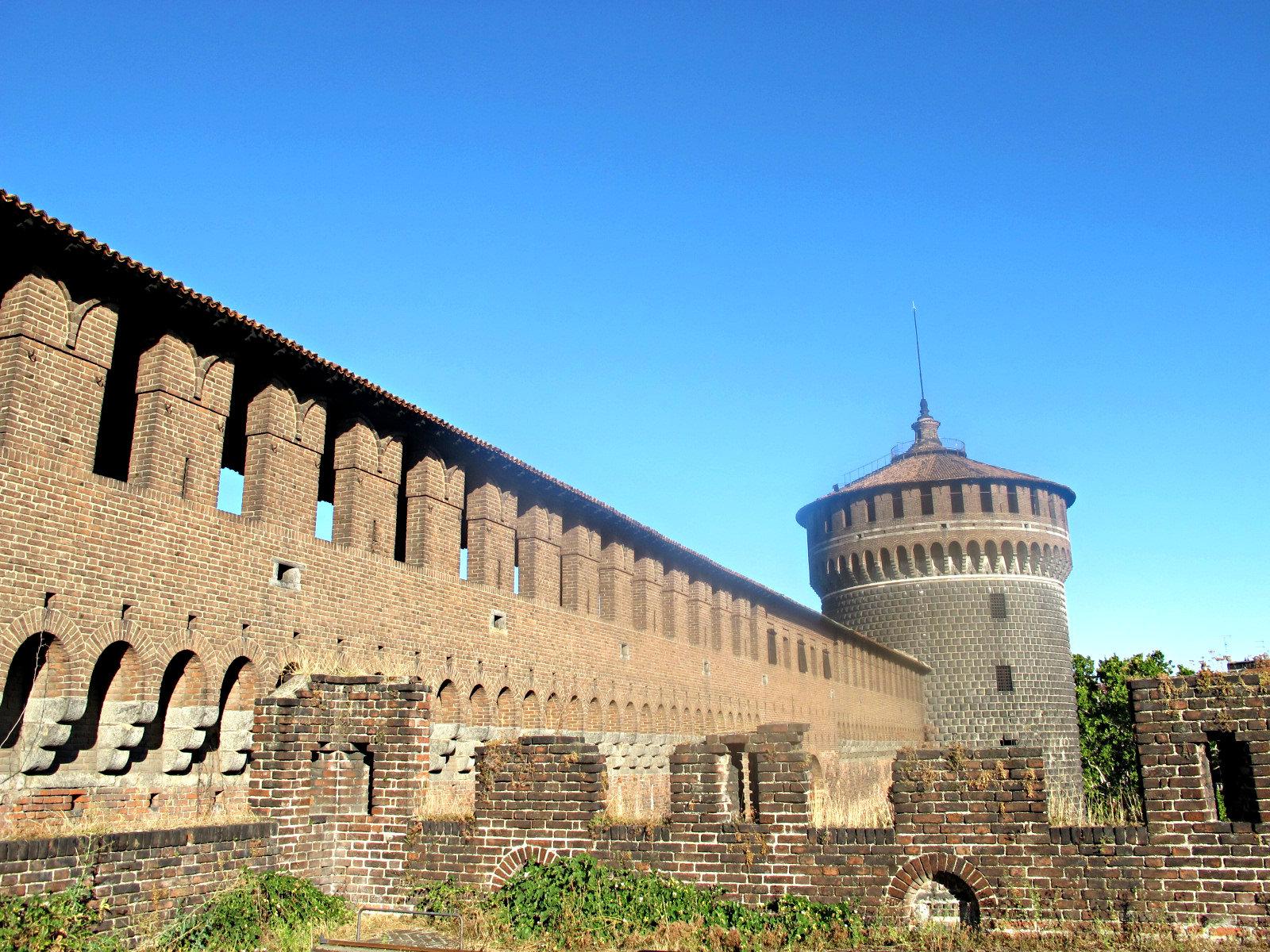 Les souterrains du château Sforzesco, histoire et frissons!