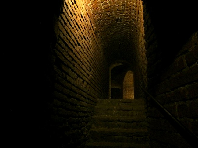 sottoterranei castello sforzesco