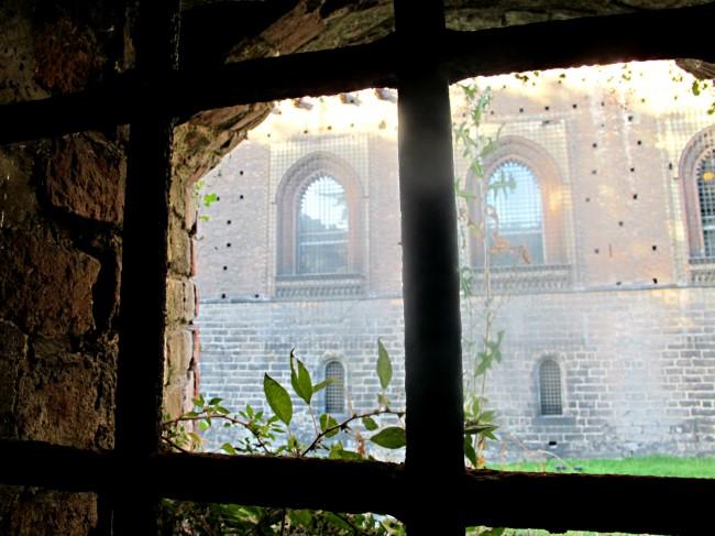 tunnels chateau sforza milan