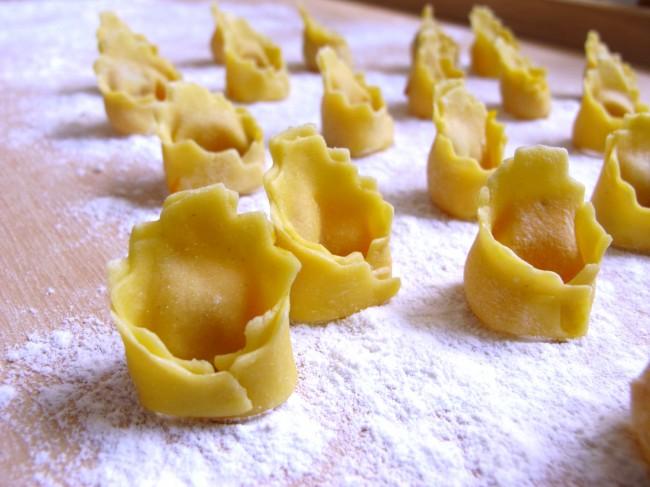faire des tortellini