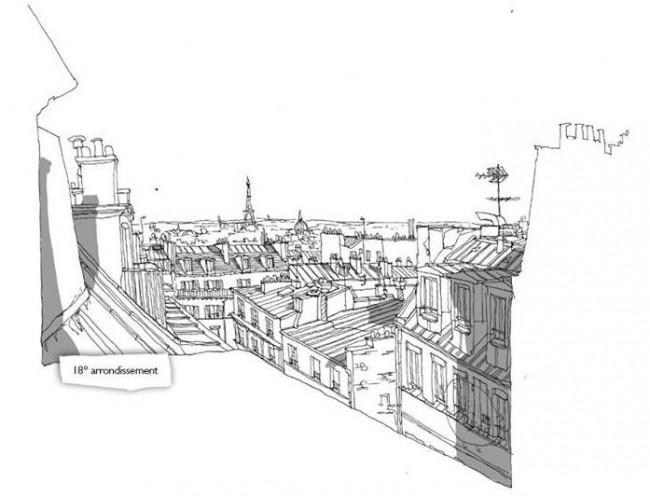 dessins paris