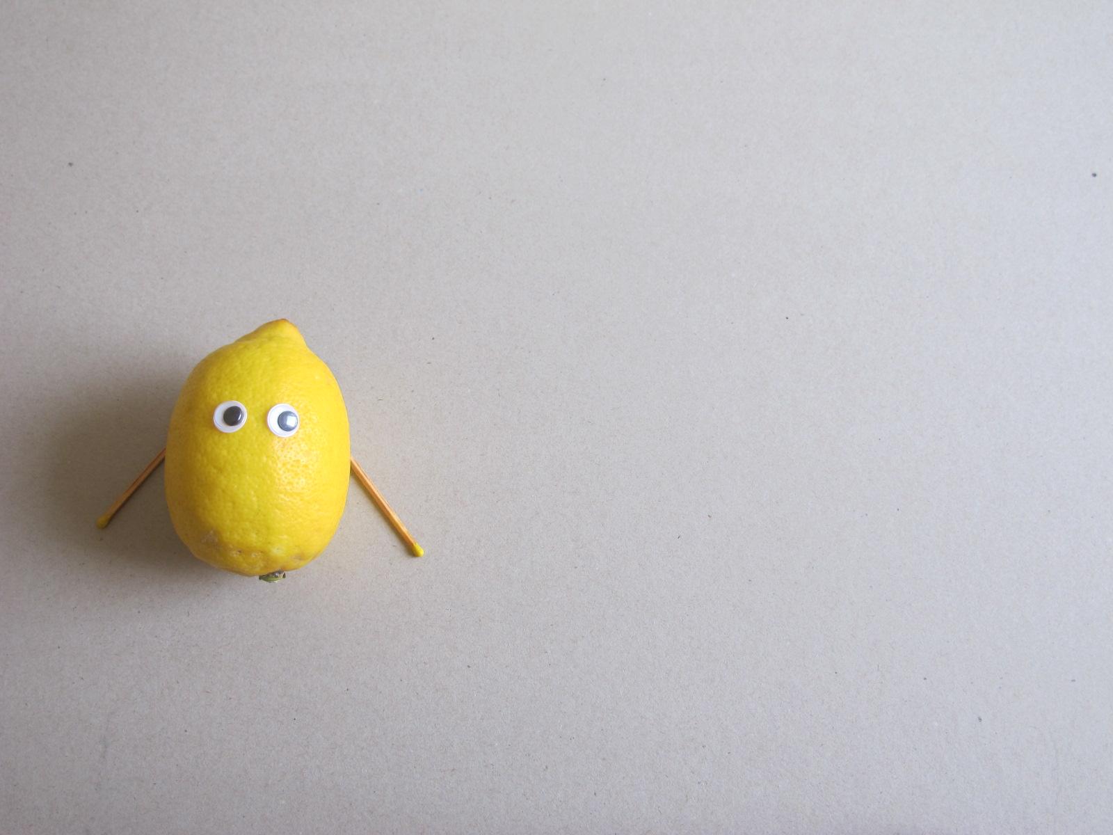 Amis imaginaires citron-pavot pour travailleurs en solo!