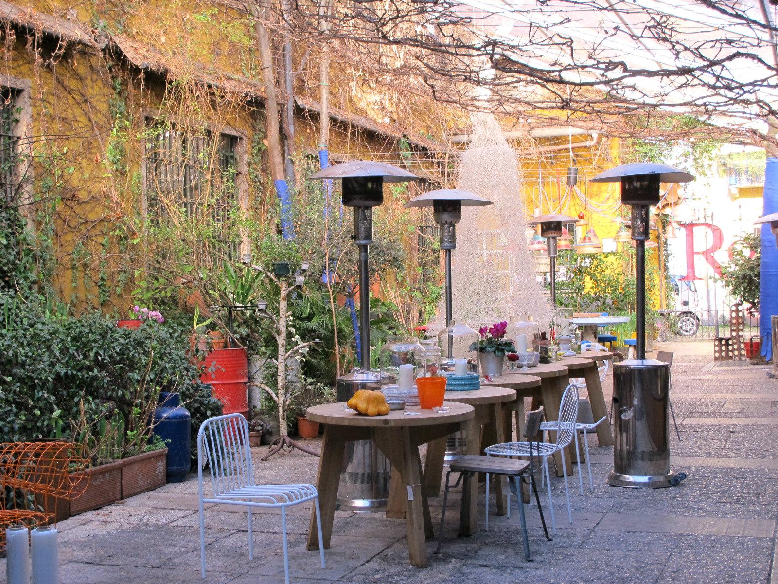 Inspiration de printemps chez Rossana Orlandi à Milan