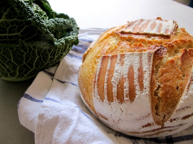 pain au levain farine kamut
