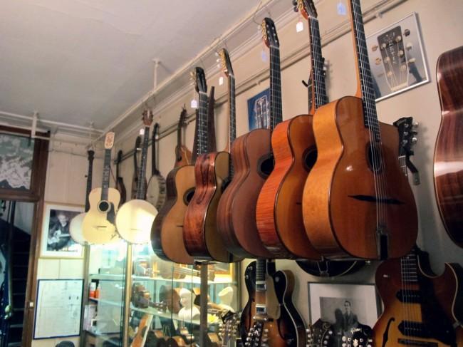 guitares luthier galerie vero dodat paris