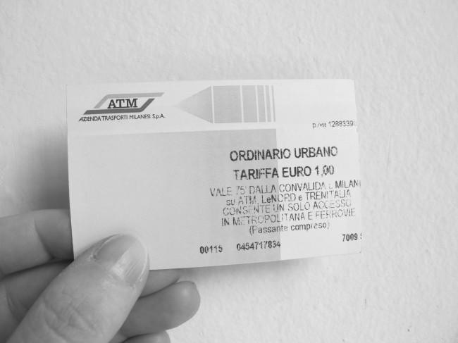 biglietto milano metro bus