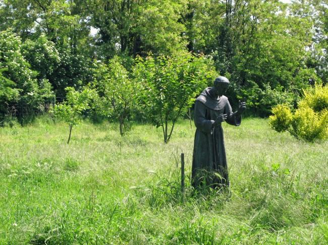 statue saint françois