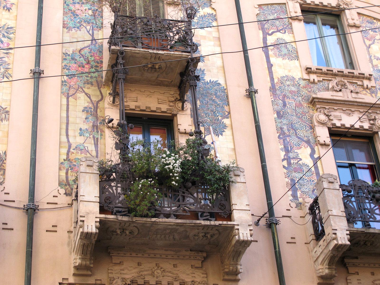 Casa Galimberti à Milan, profusion liberty!