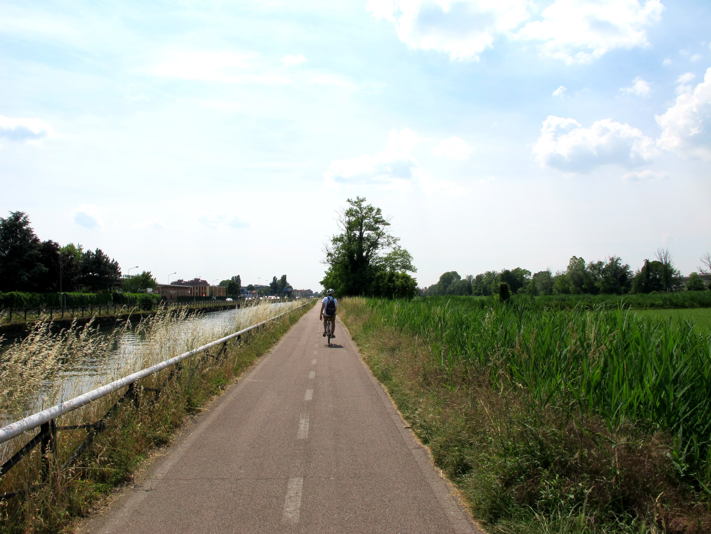 A vélo entre lac, rizières et Naviglio!