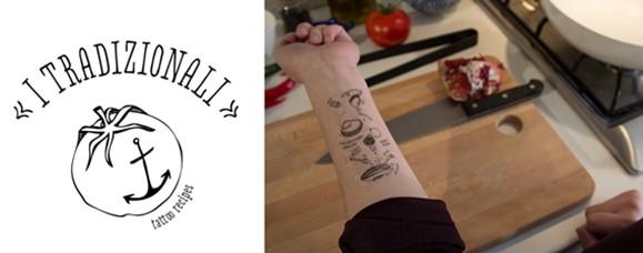 kitchen tatoo