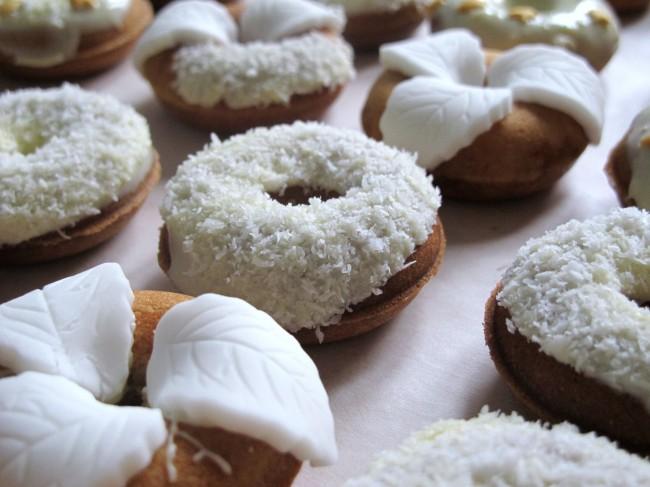 mini donuts décorés mariage