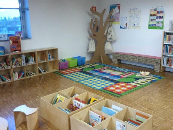 bibliothèque milan enfants