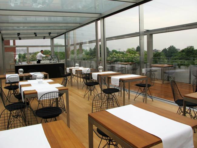 restaurant triennale rooftop