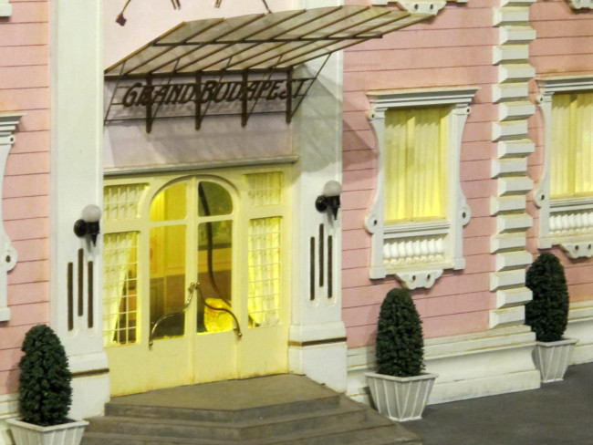maquette grand budapest hotel wes andreson