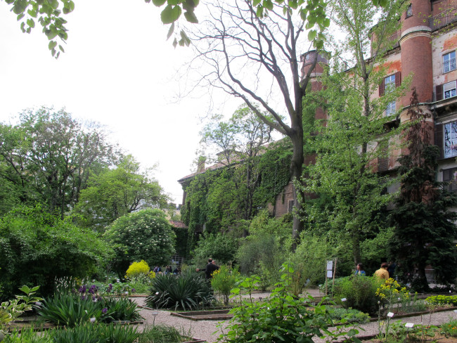 jardin botanique milan