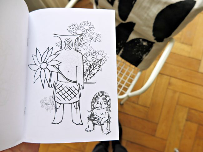livre coloriage artiste